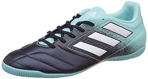 Adidas Herren Ace 17.4 in Fußballschuhe, Mehrfarbig (Energy Aqua F17/Ftwr White/Legend Ink F17), 40 2/3 EU