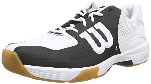 Wilson Recon Unisex Erwachsene Badmintonschuhe, Mehrfarbig (New Blue/New Blue/White), 46 EU