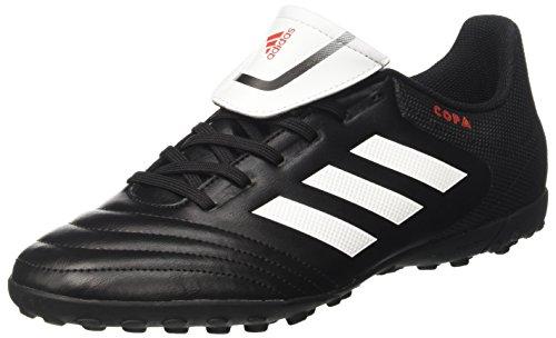 Adidas Herren Copa 17.4 TF für Fußballtrainingsschuhe, Schwarz (Negbas/Ftwbla/Negbas), 43 1/3 EU