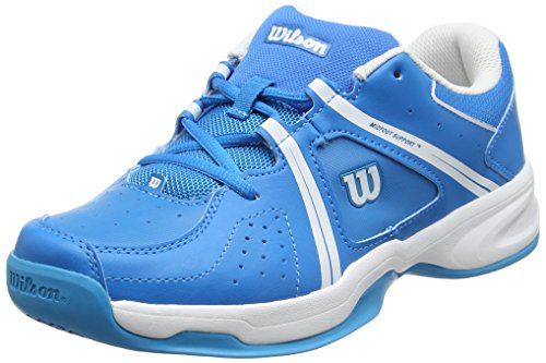 WILSON Unisex-Kinder Envy JR BL/WH Tennisschuhe, Blau (Methyl Blue), 39 EU
