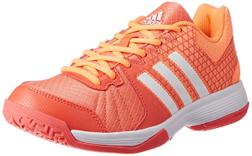 adidas Herren Ligra 4 Volleyballschuhe, Orange (Easy Coral/Ftwr White/Glow Orange), 40 2/3 EU