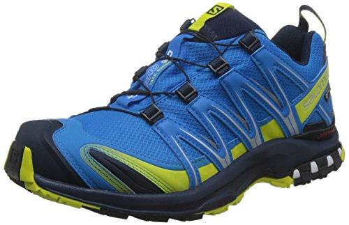 Salomon Herren XA Pro 3D GTX, Synthetik/Textil, Trailrunning-Schuhe, Blau, Gr. 44 2/3