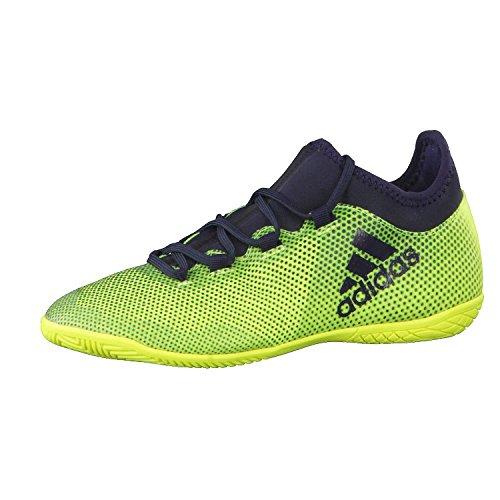 adidas Unisex-Kinder X Tango 17.3 in J Hallenfußballschuhe, Gelb (Solar Yellow/Legend Ink F17/Solar Yellow), 35 1/3 EU