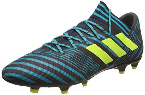 Adidas Herren Nemeziz 17.3 Fg Fußballschuhe, Mehrfarbig (Legend Ink F17/Solar Yellow/Energy Blue S17), 42 EU