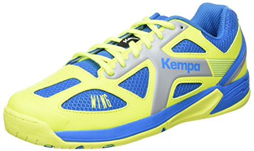 Kempa Jungen Wing Junior Sneakers, Blau (02), 37 EU