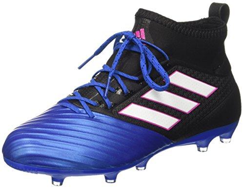 adidas Herren Ace 17.2 Primemesh Fußballschuhe, Schwarz (Core Black/Ftwr White/Blue), 44 2/3 EU