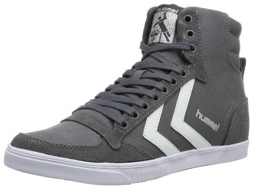 hummel HUMMEL SLIMMER STADIL HIGH, Unisex-Erwachsene Hohe Sneakers, Grau (Castle Rock/White KH), 43 EU (9 Erwachsene UK)