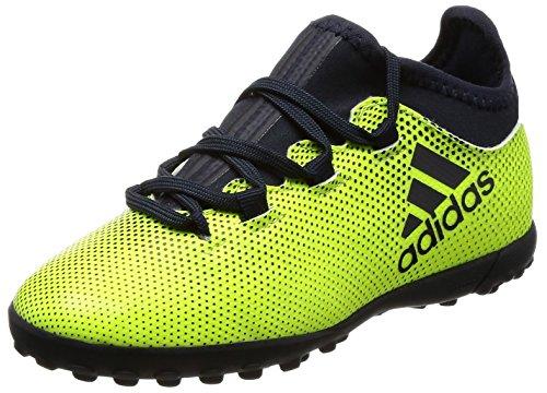 adidas Unisex-Kinder X Tango 17.3 Tf J Hallenfußballschuhe, Gelb (Amasol / Tinley / Amasol), 31 EU