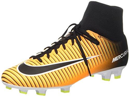 Nike Herren Mercurial Victory Vi Df Fg Fußballschuhe, Orange (Laser Orange/Black/White/Volt), 42.5 EU