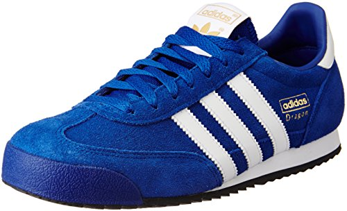 adidas Herren Dragon Turnschuhe, Azul (Reauni / Ftwbla / Negbas), 42 2/3 EU