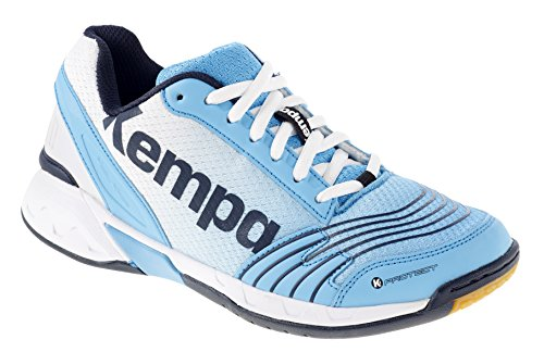 Kempa Damen Attack Three Women Sneakers, Blau (04), 38 EU