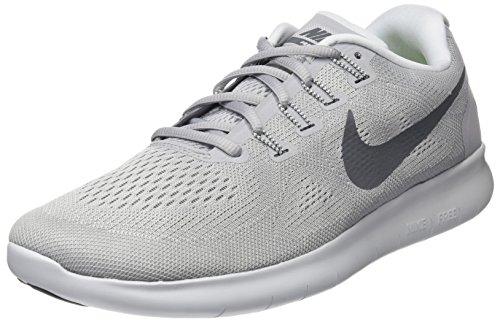 Nike Herren Free RN 2017 Laufschuhe, grau
